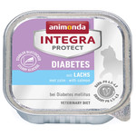 Animonda Integra Protect Diabetes mit Lachs 100 g - 16 Stück
