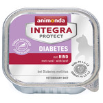 Animonda Integra Protect Diabetes mit Rind 100 g - 16 Stück