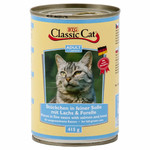 Classic Cat Dose Soße mit Lachs & Forelle 415 g - 12 Stück