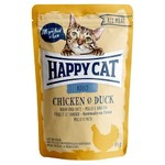 Happy Cat Pouches All Meat Adult Huhn & Ente 85 g - 20 + 4 Aktion