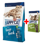 Happy Cat Supreme Adult Large Breed 1,4 kg + Adult Weide-Lamm 300 g gratis