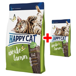 Happy Cat Supreme Adult Weide-Lamm 1,4 kg + 300 g gratis!
