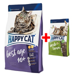 Happy Cat Supreme Best Age 10+ 1,4 kg + Adult Weide-Lamm 300 g gratis