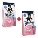 Happy Cat Supreme Junior Grainfree Ente 300 g - 1 + 1 Aktion