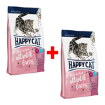 Happy Cat Supreme Junior Sterilised Atlantik-Lachs 300 g - 1 + 1 Aktion