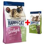 Happy Cat Supreme Sterilised Weide-Lamm 1,4 kg + Adult Weide-Lamm 300 g gratis