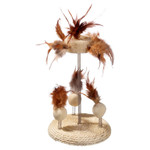 Karlie Nature Cat Toy Sisal & Luffa Stand