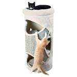 Trixie Cat Tower Gracia lichtgrau