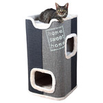 Trixie Cat Tower Jorge lichtgrau/anthrazit