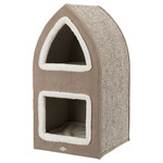 Trixie Cat Tower Marcy creme/braun