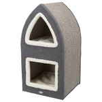 Trixie Cat Tower Marcy creme/grau